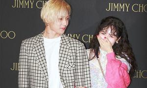 Hyun Ah - E'Dawn quá tình tứ, lấn át loạt ngôi sao cùng sự kiện