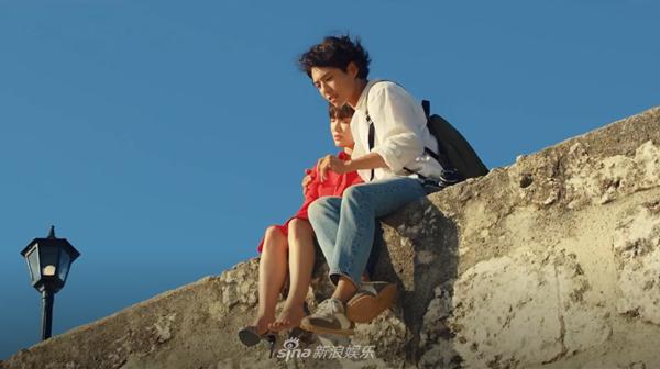 Song Hye Kyo và Park Bo Gum trên phim.