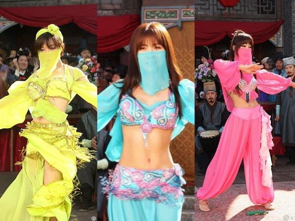Ba nữ chính trong phim (từ trái qua): Son Ga In, Ha Ji Won, Kang Ye Won.