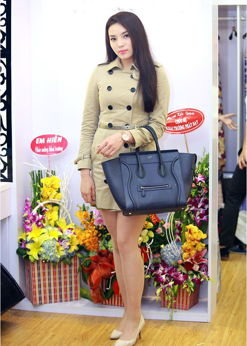 Tuy rất chăm chỉ tập luyện nhưng Kỳ Duyên lại thuốc tuýp dễ tăng cân. Thời điểm sau đăng quang Hoa hậu Việt Nam, cô cũng từng đối mặt với vấn đề cân nặng mất kiểm soát, gây khó khăn cho việc diện các kiểu trang phục và tạo dáng.