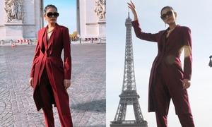 Trương Thị May khám phá Paris