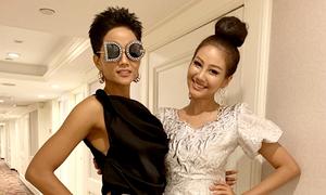 Diện mạo khác biệt, H'Hen Niê nổi bật ở ngày đầu dự Miss Universe