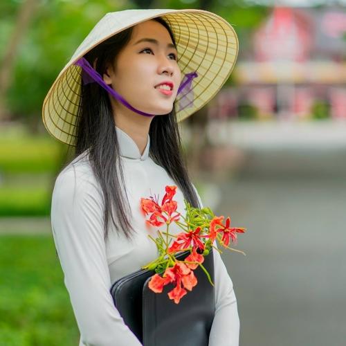 Vẻ đẹp top 15 Hoa khôi Sinh viên Việt Nam 2018 khu vực miền Trung - 1