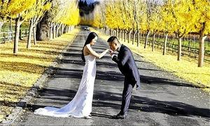 Tuấn Hưng chụp 'ảnh cưới lần hai' cùng vợ tại Mỹ