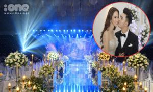 Không gian tiệc cưới lung linh của Ưng Hoàng Phúc - Kim Cương