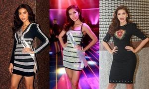 Style khoe dáng triệt để của Minh Tú tại Hoa hậu Siêu quốc gia