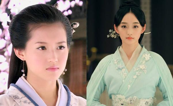 Tô Thanh (trái) và Hà Hoằng San đều có diện mạo hợp với phim cổ trang.