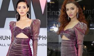 Màn đụng váy ngắn cũn bất phân thắng bại của Bích Phương - Khánh Linh