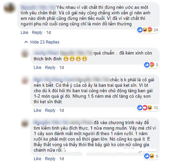 Cô gái 9x bị ném đá vì thực dụng tại show hẹn hò - 1