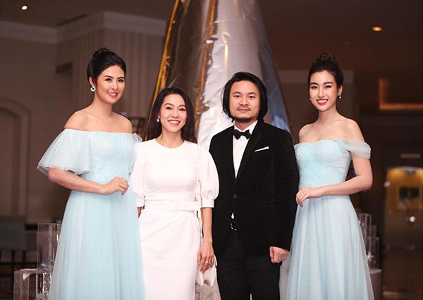 Đạo diễn Hoàng Nhật Nam và bà Phạm Kim Dung