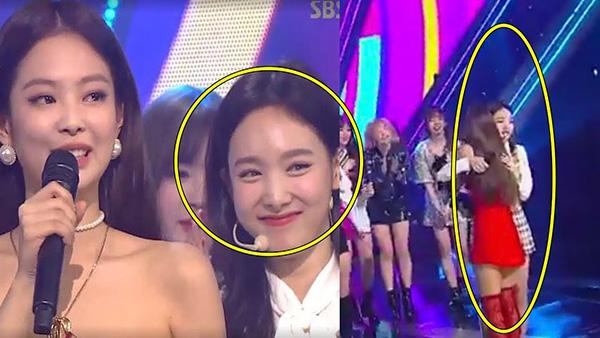 Na Yeon vẫn vui vẻ dù bị thua Jennie.