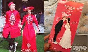 Thiệp cưới hài hước của vlogger Huy Cung và bà xã hot girl