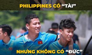 Philippines bị chế ảnh 'có tài nhưng không có Đức' nên thua