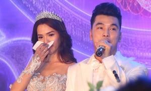 Ưng Hoàng Phúc khiến Kim Cương bật khóc trong đám cưới vì lời hứa này