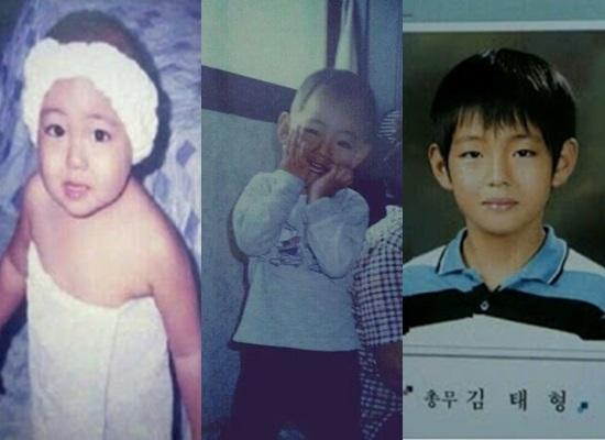 Thuở baby siêu dễ thương này là idol Hàn nào? - 3