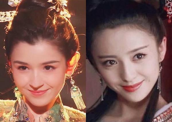 Cáp Ni Khắc Tư được khen có thần thái không thua kém một người đẹp Tân Cương khác là nữ diễn viên Đồng Lệ Á.