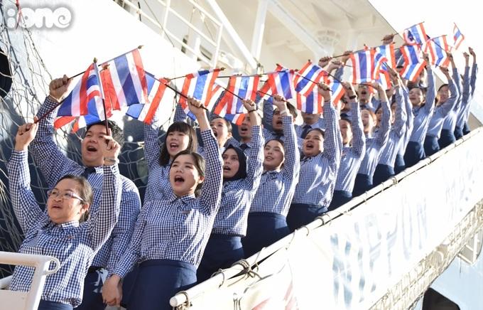 <p> Đoàn thanh niên đất nước Chùa Tháp - Thái Lan.</p>
