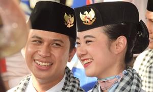 Nam thanh nữ tú của Tàu thanh niên Đông Nam Á cập cảng Việt Nam