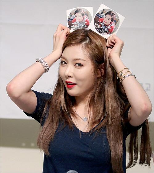 Các fan cảm thấy tiếc nuối khi Hyun Ah đã không còn tươi tắn, tràn đầy sức sống như những năm trước.
