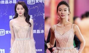 Mặc chung váy, Quan Hiểu Đồng 'ăn đứt' Ngô Cẩn Ngôn