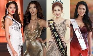 Đại diện Việt thi nhan sắc quốc tế: Người bị tung ảnh nude, kẻ bị cắt nát trang phục