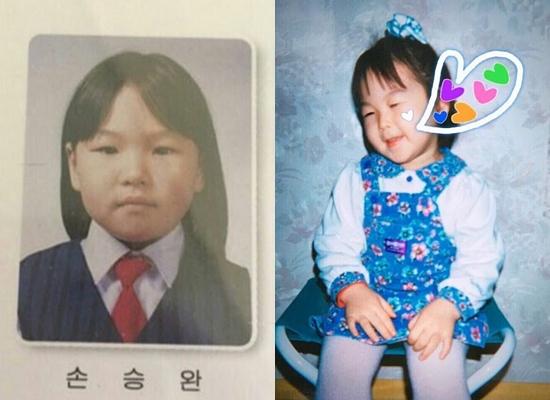 Thuở baby siêu dễ thương này là idol Hàn nào?