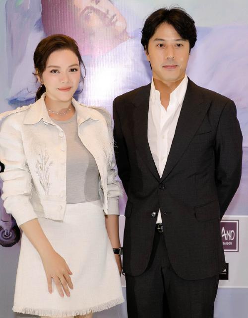 Lý Nhã Kỳ có mối quan hệ thân thiết với tài tử Han Jae Suk.
