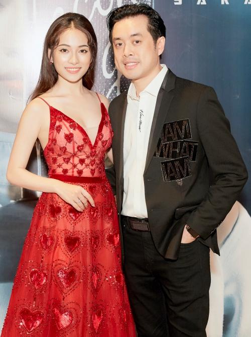Sara Lưu và bạn trai Dương Khắc Linh.