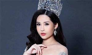 Lê Âu Ngân Anh chờ cấp phép thi Hoa hậu Liên lục địa