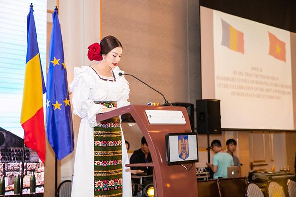 phát biểu tại lễ kỷ niệm, bày tỏ vui mừng được đóng góp sức mình vào việc thúc đẩy quan hệ hợp tác giữa hai nước.