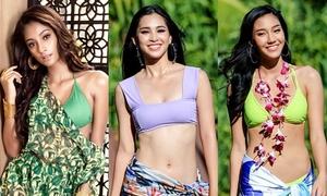 Nhan sắc Tiểu Vy và 16 thí sinh vào thẳng top 30 Miss World 2018
