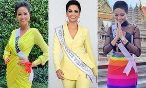 4 thông điệp trong cách chọn trang phục của H'Hen Niê ở Miss Universe