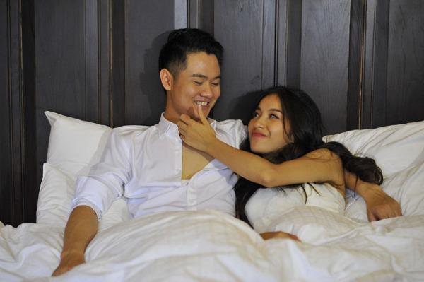 Bạn gái Thanh Cường không ghen khi anh đóng cảnh nóng.