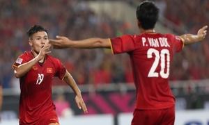 Khoảnh khắc ghi bàn của Quang Hải đưa Việt Nam vào chung kết AFF
