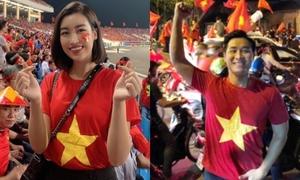 Sao Việt phấn khích rủ nhau 'đi bão' mừng Việt Nam vào chung kết AFF