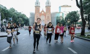 Diễm My làm 'thủ lĩnh' tại adidas Runners Saigon