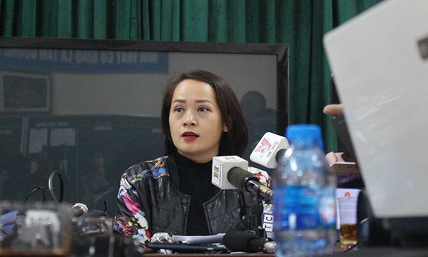 Chị Ngô Thanh Tâm, phụ huynh học sinh P.