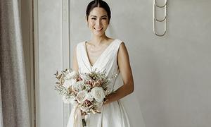 Đỗ Mạnh Cường bật mí về chiếc váy cưới thiết kế cho Hoa hậu Thái
