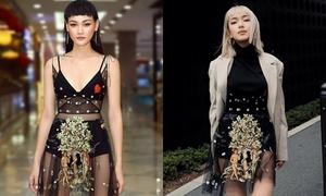 Châu Bùi - Thùy Trang đụng váy 2.000 USD: Ai mặc đẹp hơn?