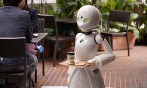 Nhật Bản: Quán cafe dùng robot làm nhân viên