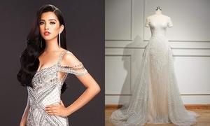 Váy dạ hội đính 2.000 viên đá của Tiểu Vy trong chung kết Miss World 2018