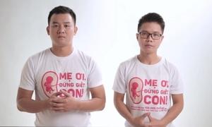 Hai chàng trai bị 'ném đá' khi kêu gọi 10.000 chữ ký chống nạo phá thai