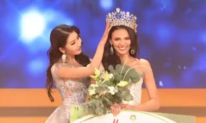 Khoảnh khắc đăng quang của Tân Hoa hậu Siêu quốc gia 2018