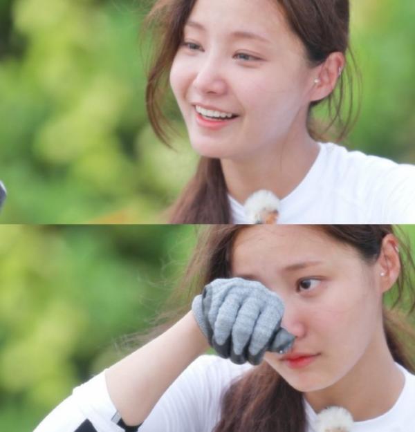 Yeon Woo tự nhận kém tài năng nhất nhóm.