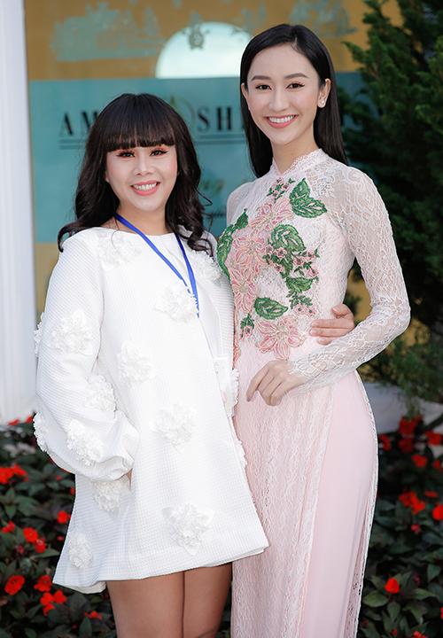 Hoa hậu Phan Thị Mơ xuống sắc vì sụt ký không phanh - 4