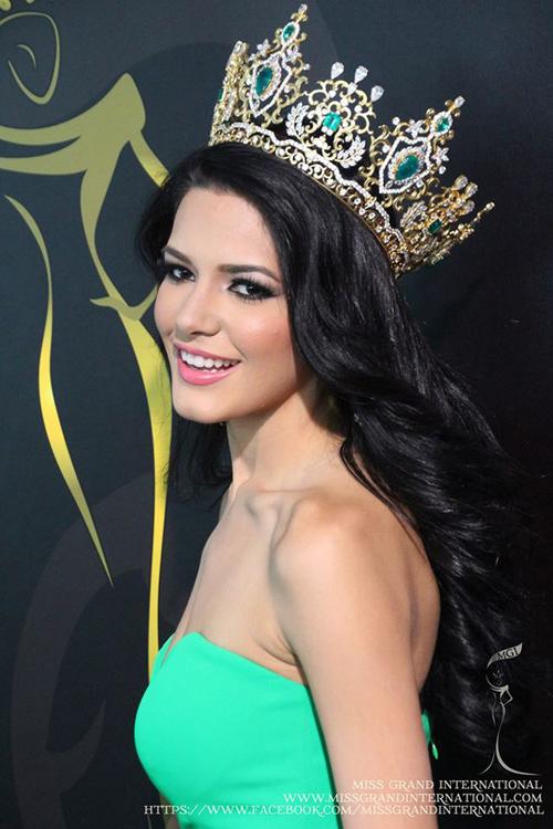 Năm 2013 đánh dấu lần đầu tiên Puerto Rico chiến thắng cuộc thi Miss Grand International. Người đẹp nhận vương miện làJanelee Chaparro