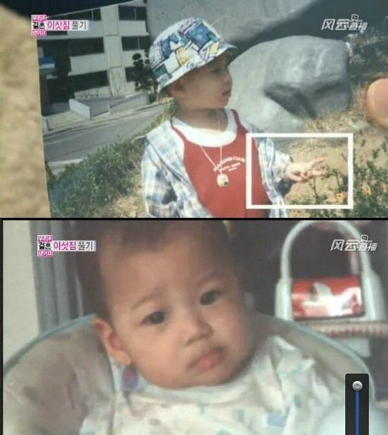 Thuở baby siêu dễ thương này là idol Hàn nào? (2)