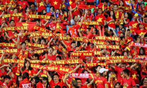 4 ca khúc luôn vang lên trên các khán đài có tuyển Việt Nam