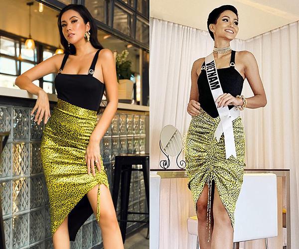 Tuy nhiên cũng không ít người nhận ra, cách mặc đồ của HHen Niê thực tế chưa đúng với nguyên mẫu của nhà thiết kế. Trong khi người mẫu mặc lệch phần nhún dây rút giúp tôn lên đôi chân thon thì HHen Niê lại xoay váy ra chính giữa, trông như đang quấn khăn và có phần thiếu tinh tế hơn hẳn. Đây không phải là lần đầu tiên Hoa hậu Hoàn vũ Việt Nam mặc sai ý tưởng của NTK. Vì phải chuẩn bị mọi thứ một mình, gấp rút thời giannên nhiều trang phục cô mặc chưa đúng cách.