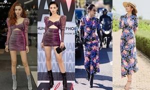 Khánh Linh The Face: Mỹ nhân siêng đụng váy áo nhất 2018